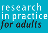 Resources from Research in Practice for Adults